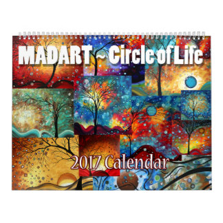 2017 Calendar Circle of Life from Megan Duncanson