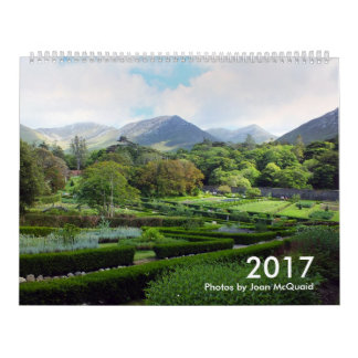 2017 Calendar: Photographs by Joan McQuaid Wall Calendar