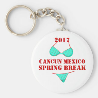2017 Cancun Mexico | Spring Break Souvenir Keychain