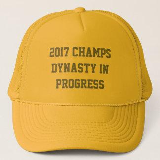 2017 CHAMPS - DYNASTY IN PROGRESS TRUCKER HAT