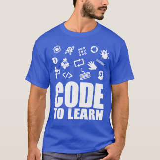 2017 Code To Learn Short Sleeve T-Shirt