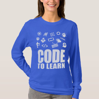 2017 Code To Learn Woman's Long Sleeve T-Shirt