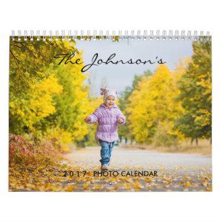 2017 Custom Calendar