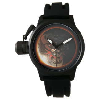 2017 Dragon Skull Eclipse Men's Watch