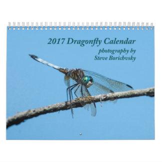 2017 Dragonfly Calendar
