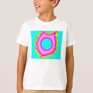 2017 Eclipse Kids' t-shirt, Neon Series(Blue/Pink) T-Shirt