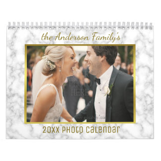 2017 Family Photo | Patterns Easy Custom Template Wall Calendars