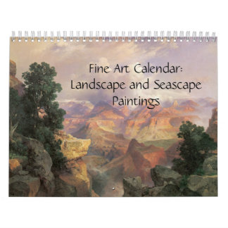2017 Fine Art Calendar Landscapes and Seascape