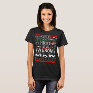 2017 First Christmas Awesome Maw Ugly Sweater