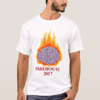 2017 Flaming Brain Men's Crew Neck Tee
