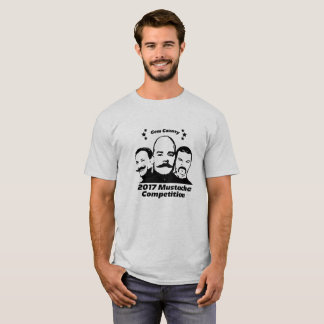 2017 Gem County Mustache Competition T-Shirt