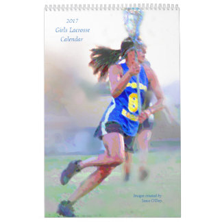2017 Girls Lacrosse Calendar