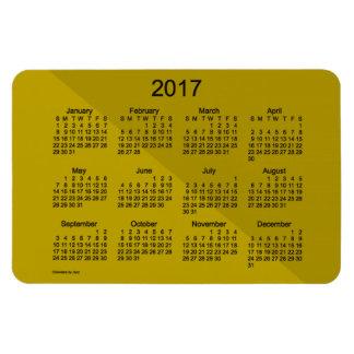 2017 Gold Angle Art Calendar by Janz 4x6 Magnet