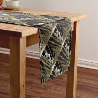 2017 golden roof short table runner