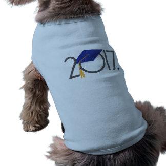 2017 Graduate Design Pet Tank Shirt Doggie Tee Shirt