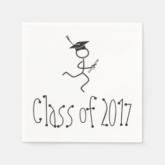 2017 Graduation Runner © Running Grad Party Supply Disposable Napkin