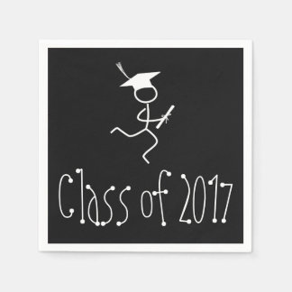 2017 Graduation Runner © Running Grad Party Supply Disposable Napkins