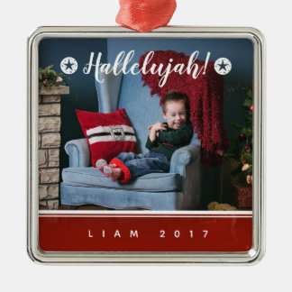2017 HALLELUJAH PERSONALIZED CHRISTMAS ORNAMENT