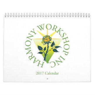 2017 Harmony Workshop Calendar
