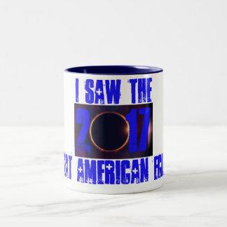 2017 I Saw The Eclipse Two-Tone Coffee Mug