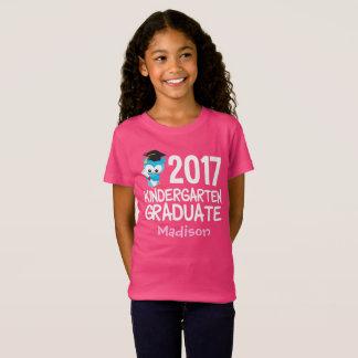 2017 Kindergarten Graduation Cute Custom T-Shirt