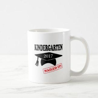 2017 Kindergarten Nailed It Coffee Mug