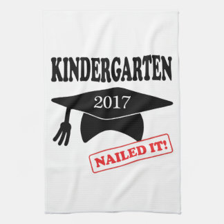 2017 Kindergarten Nailed It Kitchen Towel