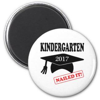 2017 Kindergarten Nailed It Magnet