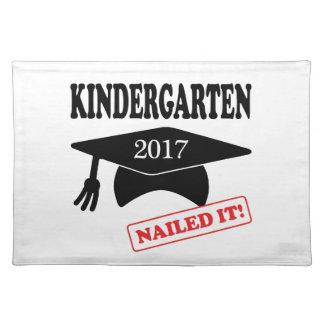 2017 Kindergarten Nailed It Placemat