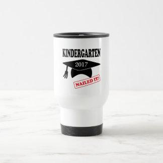 2017 Kindergarten Nailed It Travel Mug