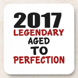 2017 LEGENDARY AGED TO PERFECTION DRINK COASTERS