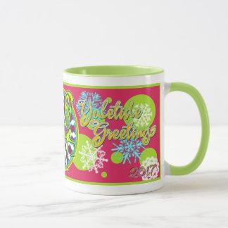 2017 Mink Holidaze Collectible Horse Mug 1
