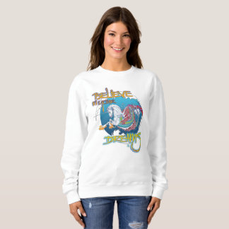 2017 Mink Mode Hippicorn Ladies Sweatshirt