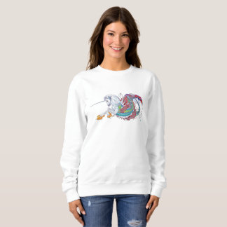 2017 Mink Mode Hippicorn Ladies Sweatshirt 2