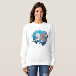 2017 Mink Mode Hippicorn Ladies Sweatshirt 4