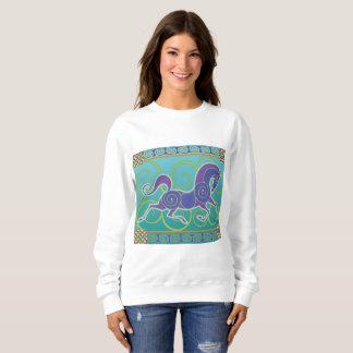 2017 Mink Mode Horse Norse Sweatshirt 1