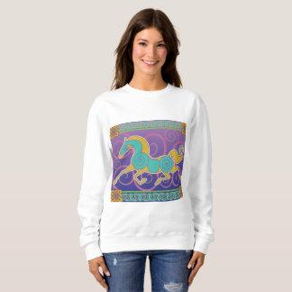 2017 Mink Mode Horse Norse Sweatshirt 2