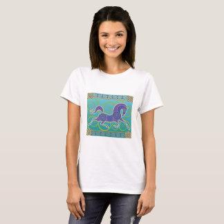 2017 Mink Mode Horse Norse T-shirt  1