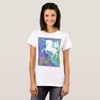 2017 Mink Mode Magical Unicorn Ladies T-shirt