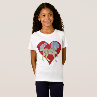 2017 Mink Mode Runequine Heart Kid's T-shirt 1