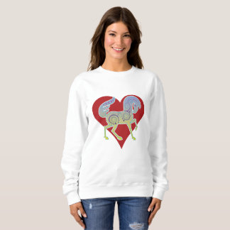 2017 Mink Mode Runequine Heart ladies sweatshirt 1