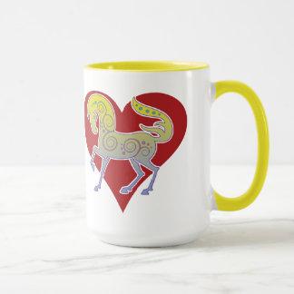 2017 Mink Mug Runequine Heart 15oz mug