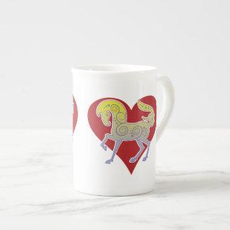 2017 Mink Mug Runequine Heart Bone China mug