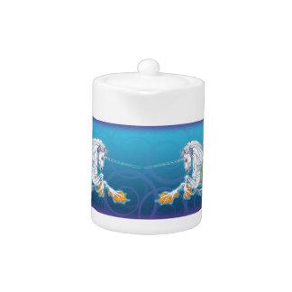 2017 Mink Nest Hippicorn Tea Pot small