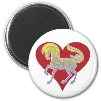 2017 Mink Nest Runequine Heart Magnet 2