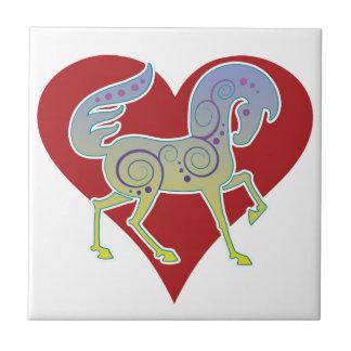 2017 Mink Nest Runequine Heart Small Tile 1
