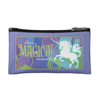 2017 Mink Tote Magical Unicorn Smal Cosmetic Bag