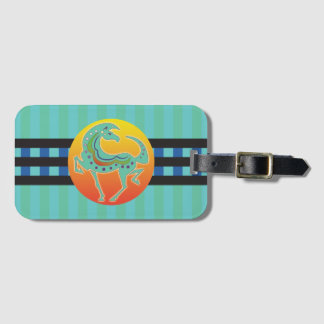 2017 Mink Tote Runequine Checkers Luggage Tag 1