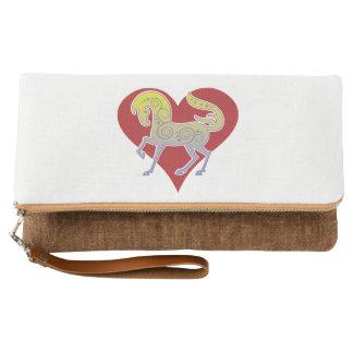 2017 Mink Tote Runequine Heart clutch 2