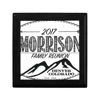 2017 Morrison Reunion Items - LIGHT background Gift Box